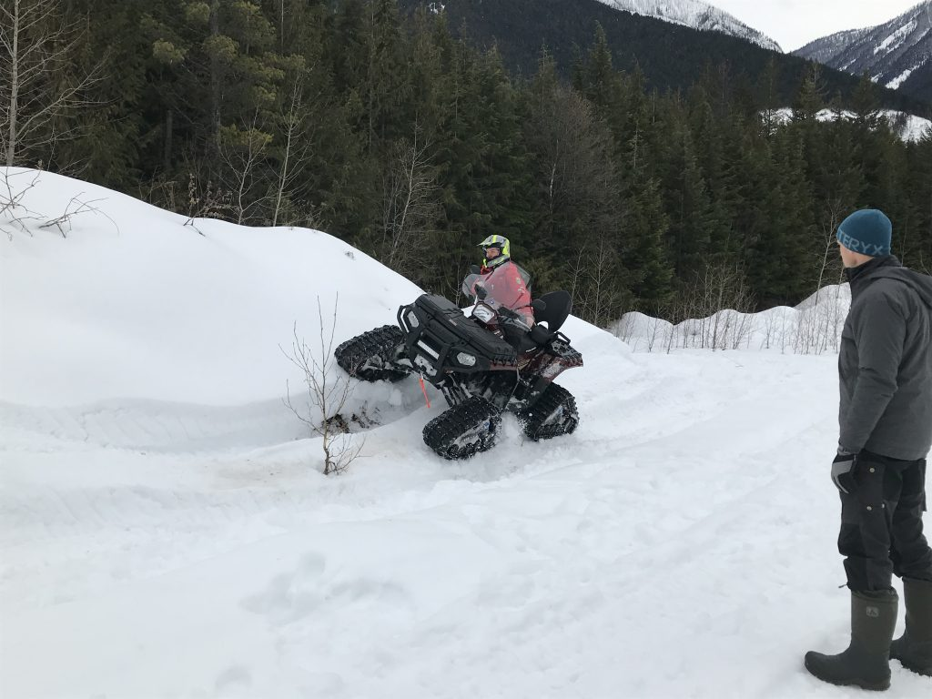 ATV Rider Training sideslope
