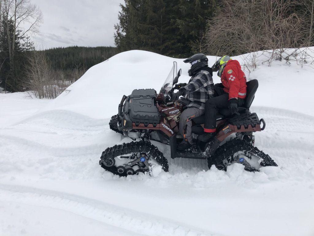 ATV Rider on quad