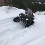 ATV Track side slope