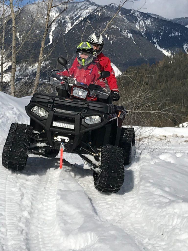 ATV Rider Training 2 up